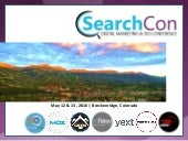 SearchCon 2016 | Volume Nine Culture Revised with Natalie Henley and David Yarian