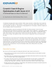 SEO Audit: Search Engine Optimization Audit Score v3.0
