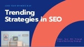Top 10 SEO Strategy for Increasing User Engagement