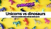 Unicorns v dinosaurs: How to be creative when nobody wants you to