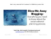 Search Marketing Expo: Blow me away blogging