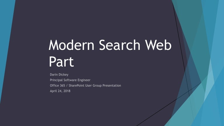 Building a Modern Intranet