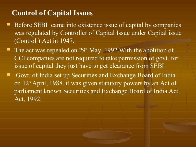 sebi guidelines for stock exchange in india