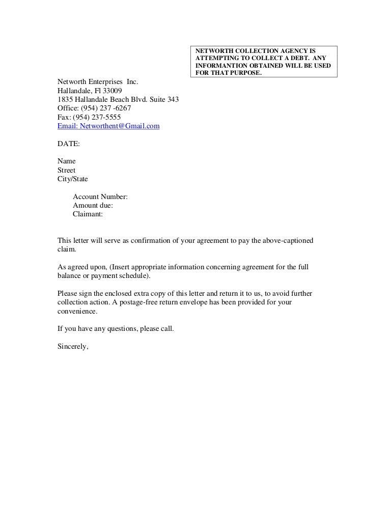 past due notice letter