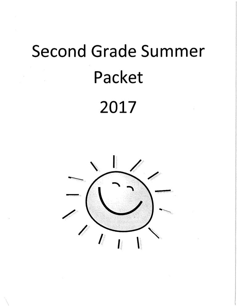 Second grade packet