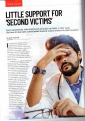 Second Victims - When the Treating Physician becomes the Victim