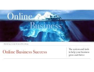 Secrets to business online2016