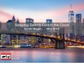 Securing Search Data in the Cloud
