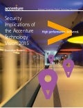 Security Implications of Accenture Technology Vision 2015 - Executive Report