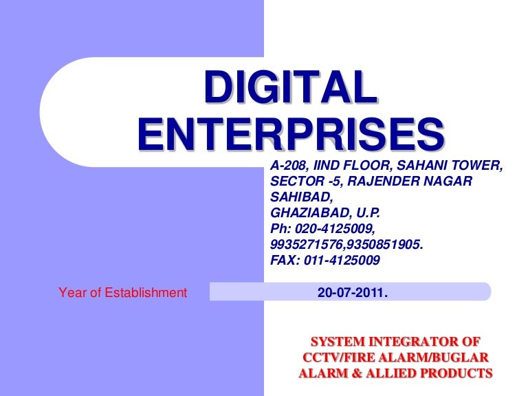 Security solution by digital enterprises sahibabad cheapraybanclubmaster Choice Image