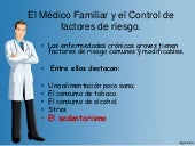 SEDENTARISMO Y FACTORES DE RIESGOS