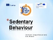 Sedentary behaviour