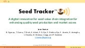 A digital innovation for seed value chain integration for enhancing quality seed production and market access