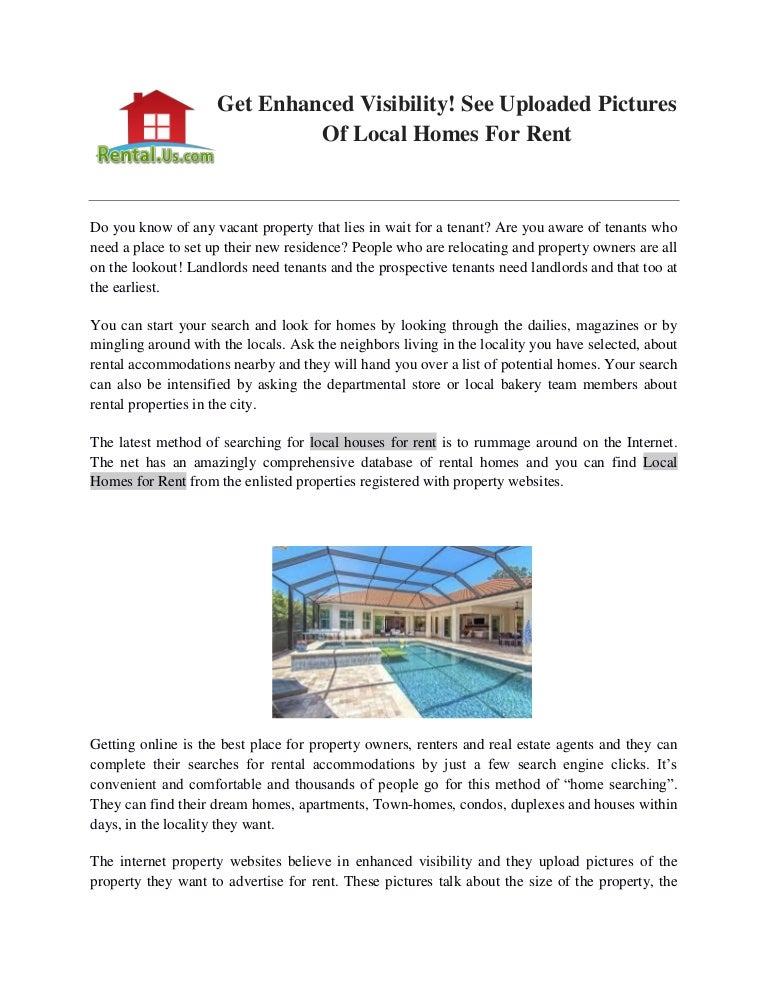 find local home