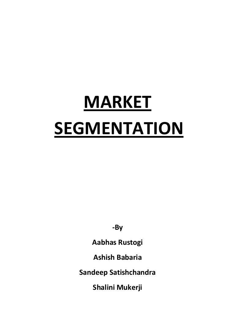 Customer Segmentation Tree