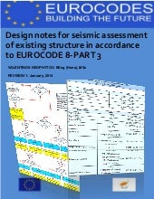 Seismic assessment of buildings accordance to Eurocode 8 Part 3