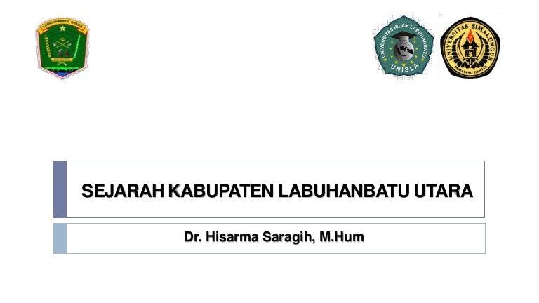 Sejarah Kabupaten Labuhanbatu Utara