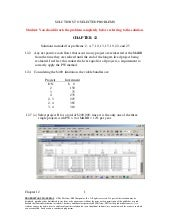 Selected solutions   12