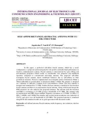 Self affine rectangular fractal antenna with uc-ebg structure-2