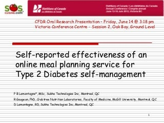 Developing and testing accessible web based support for diabetes     SlideShare Dario Blood Glucose Management System