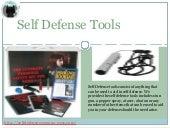 Self defense tools