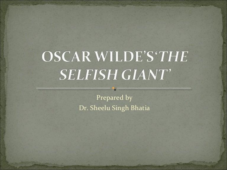 the selfish giant summary