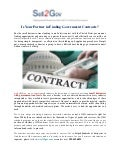 Sell2gov - Small Businesses with Government Contracts