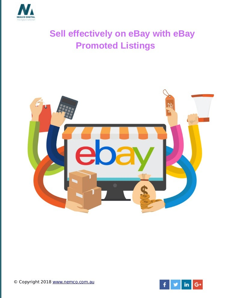 Sell Effectively On E Bay With Ebay Promoted Listings