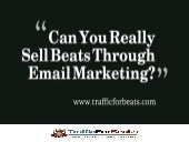 Can You Really Sell Beats Through Email?