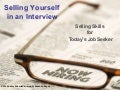 Selling Yourself In An Interview