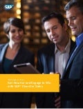 Sell Smarter and Engage to win with SAP Cloud for Sales