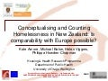 Conceptualising and Counting Homelessness in New Zealand: is Comparability with Europe possible?