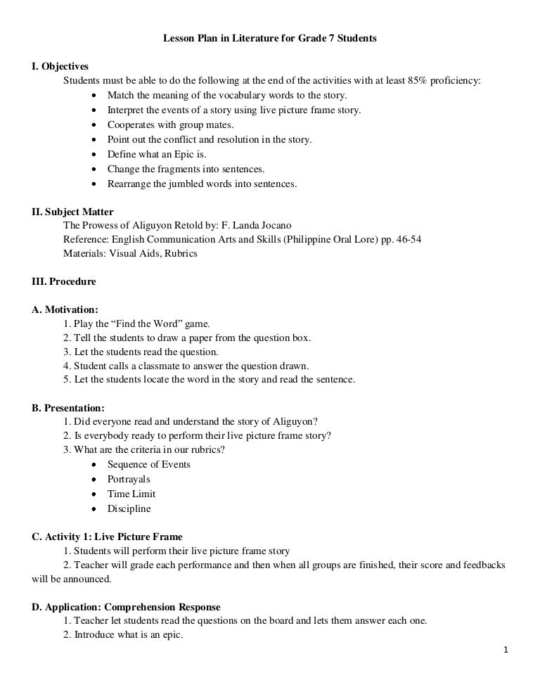semi detailed lesson plan in science grade 9