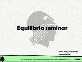 Chemical Reactions: pH Equilibria Seminar