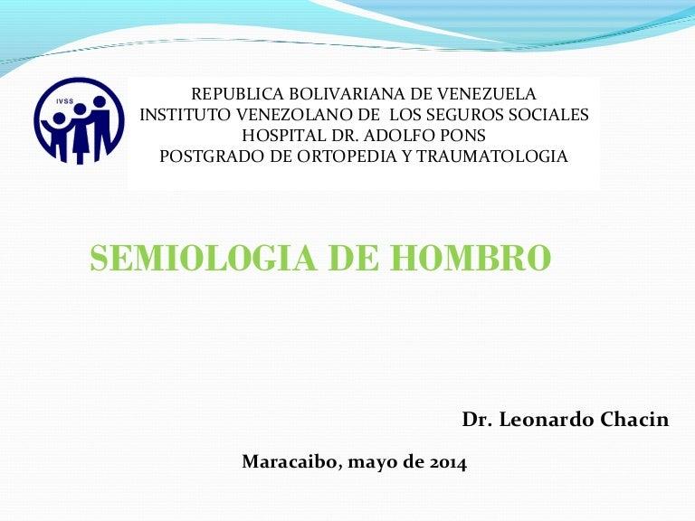 Semiologia de hombro