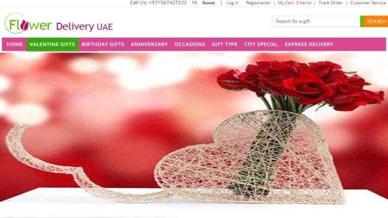 Send valentine gifts to uae