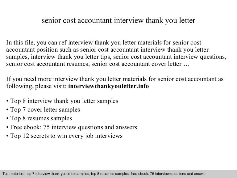 Project Cost Accountant Cover Letter