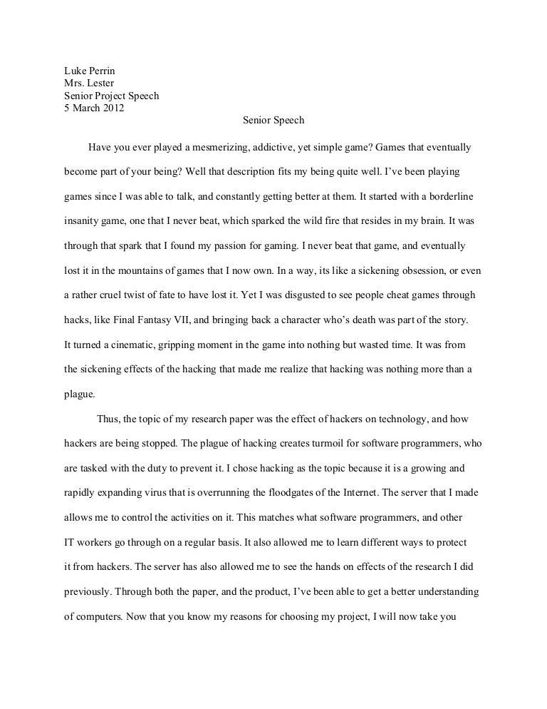 self portrait essay example sample speeches inside package  senior project speech self portrait essay example
