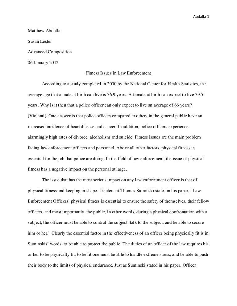research paper on health and fitness