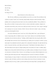 senior project research paper examples