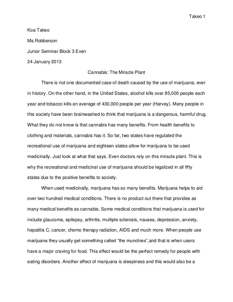senior research paper