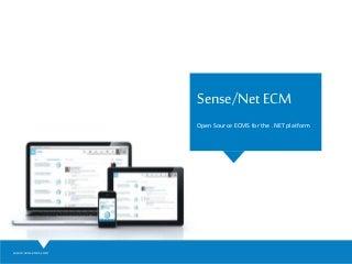 Sense/Net ECM Product Presentation
