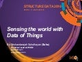 Sensing the world with data of things