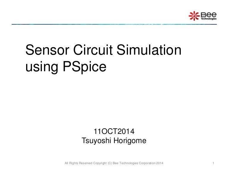 sensor circuit simulation using pspice