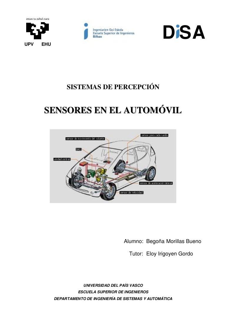 Sensores de la suspension electronica