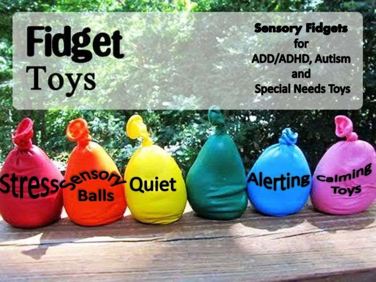 Sensory Fidget Toys For ADD