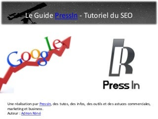 le Tutoriel SEO by Pressin
