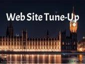Web Site Tune-Up - Improve Your Googlejuice