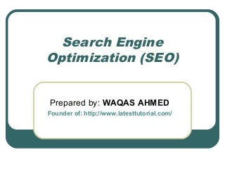 Search Engine Optimization Tips: SEO Tips For Beginners in 2015