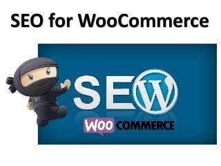 SEO For WooCommerce